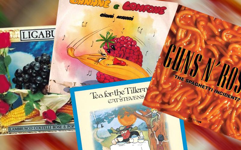 Canzoni sul cibo – Mangiare e bere… come pretesto per parlare di altro!