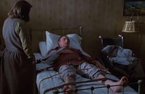 Una scena del film Misery non deve morire
