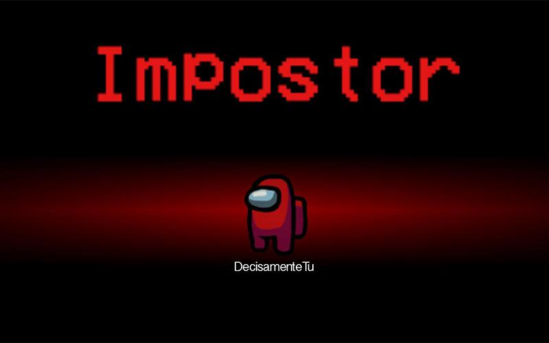Una schermata di Among us, un gioco interamente basato sull'essere un impostore che non deve farsi scoprire mentre danneggia gli altri