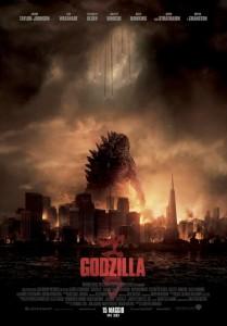 Godzilla (2014) - Locandina