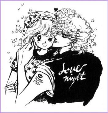 I protagonisti di Love Me Knight / Kiss Me Licia