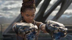 Il personaggio di Shuri, la sorella di Black Panther