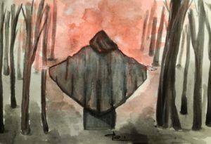 Negromante, illustrazione di Giulia Repetto