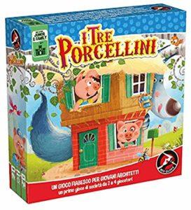 esempio di gioco da tavola da regalare ai bambini dai 5 ai 7 anni: i tre porcellini