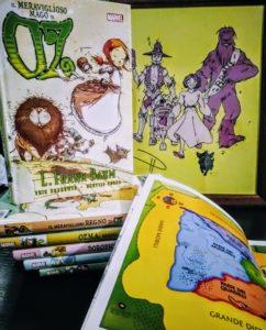 I sei volumi del ciclo Il mago di Oz fumetto