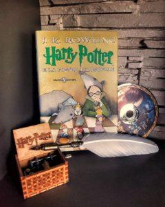 Libro e film di Harry Potter e la pietra filosofale