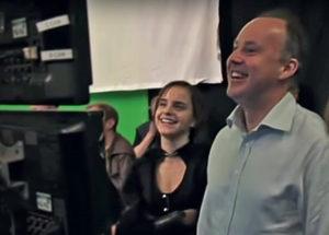 David Yates ed Emma Watson dietro le quinte di Harry Potter e i doni della morte