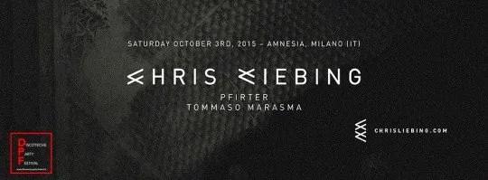 Amnesia Chris Liebing 03 10 2015