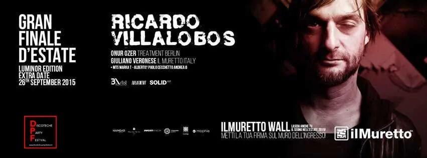 Il Muretto Ricardo Villalobos 26 09 2015