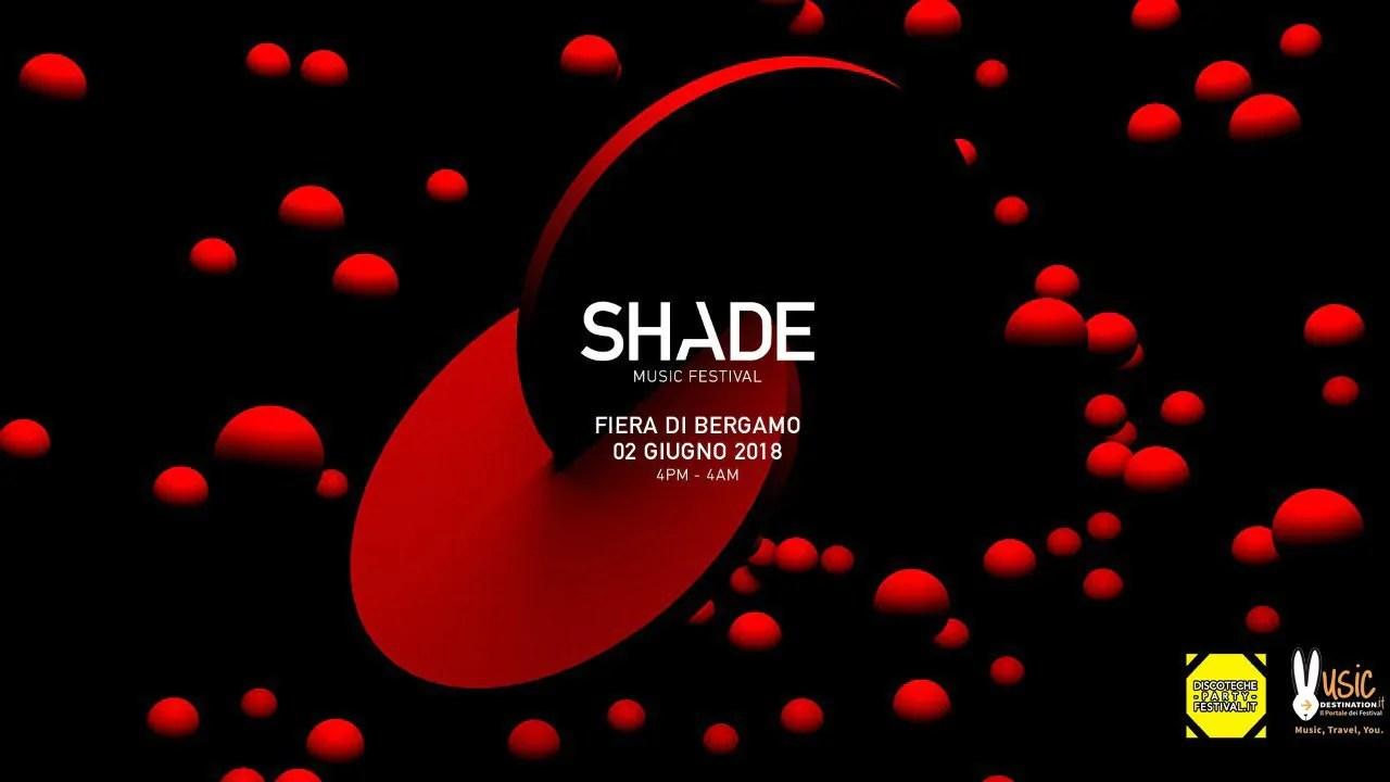 SHADE MUSIC FESTIVAL 2018 – Fiera di Bergamo – 02 Giugno 2018 – Marco Carola