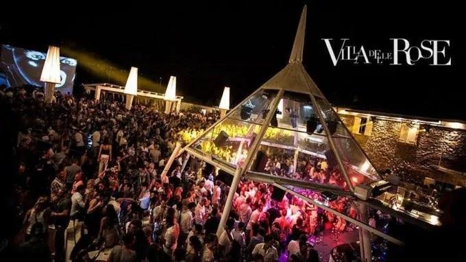 Villa delle Rose, Programmazione serate estate 2019 lineup dj serate eventi