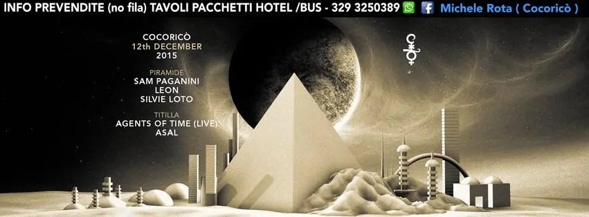 COCORICO RICCIONE SABATO 12 DICEMBRE 2015 SAM PAGANINI LEON+ PREZZI PREVENDITE BIGLIETTI TAVOLI HOTEL + PULLMAN