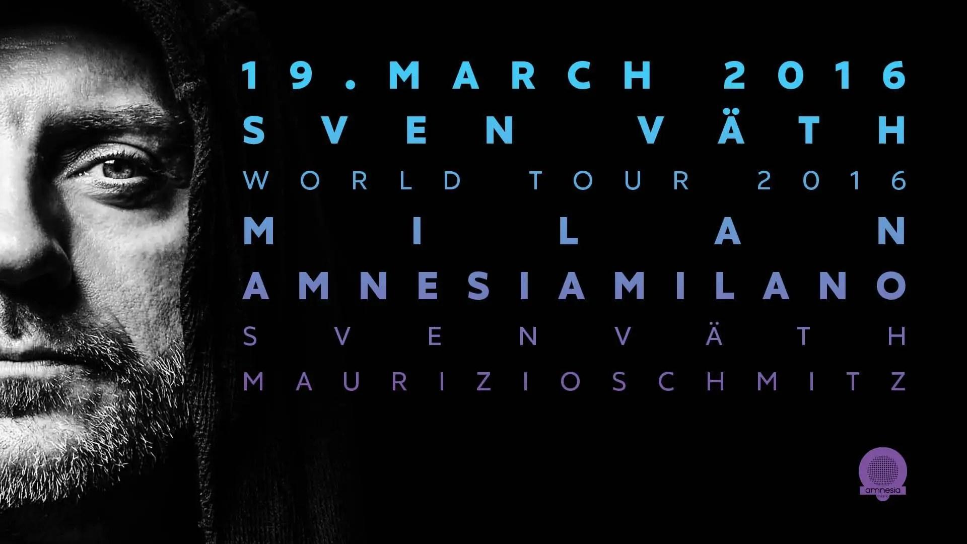 Amnesia Milano 19 03 2016 Sven Vath