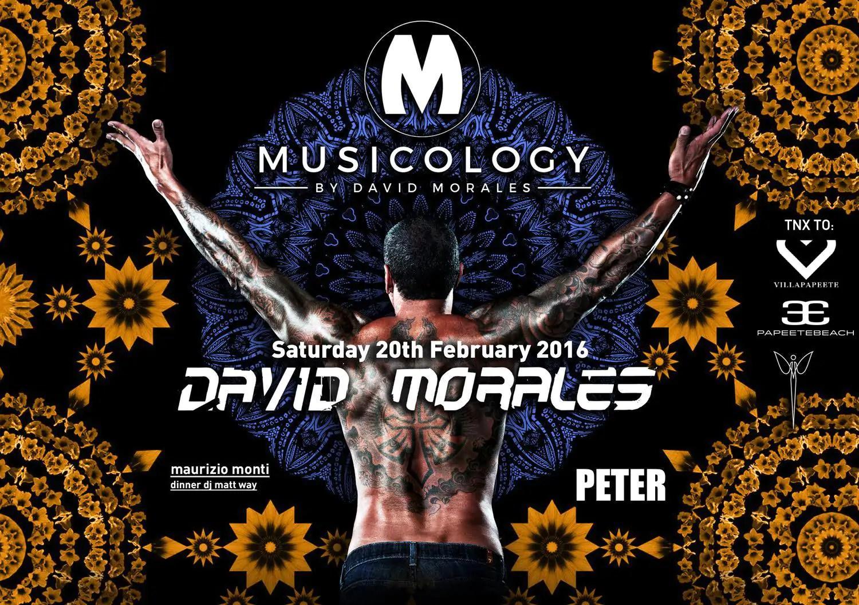 Peter Pan Riccione 20 Febbraio 2016 David Morales