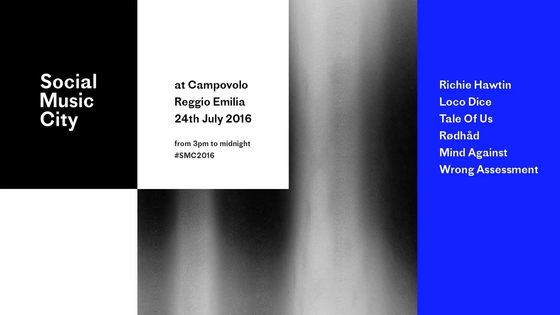 Social Music City Campovolo 24 Luglio 2016