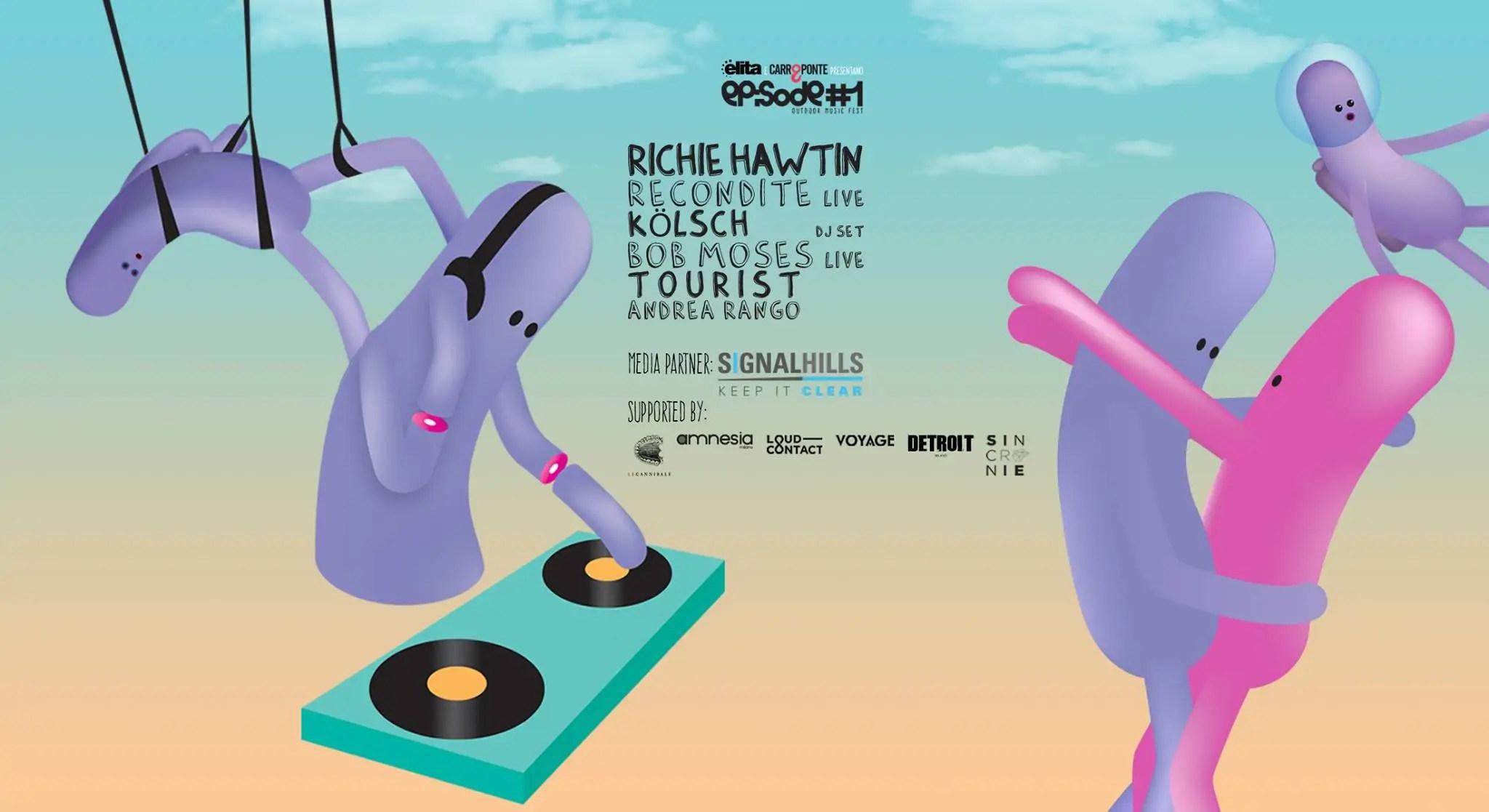 Richie Hawtin Elita Festival Milano 2016