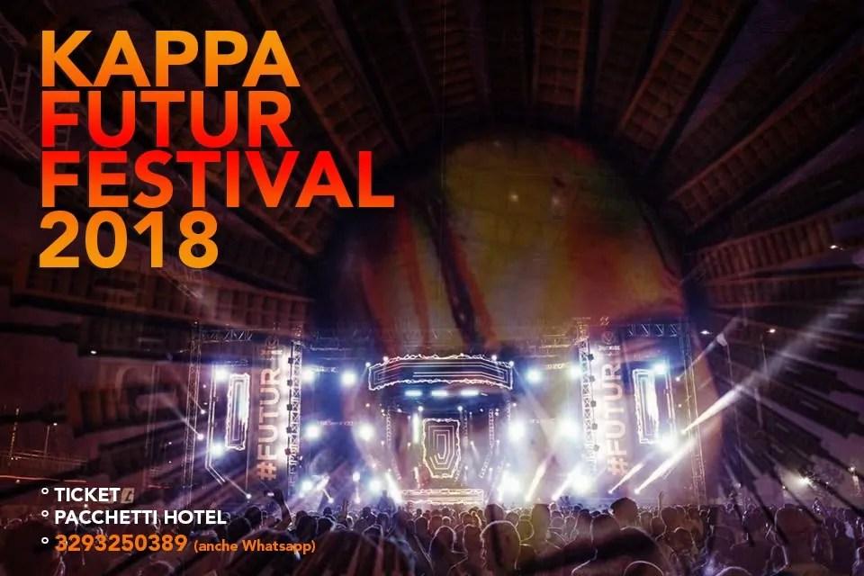 KAPPA FUTURFESTIVAL 2018 TORINO, 7- 8 Luglio
