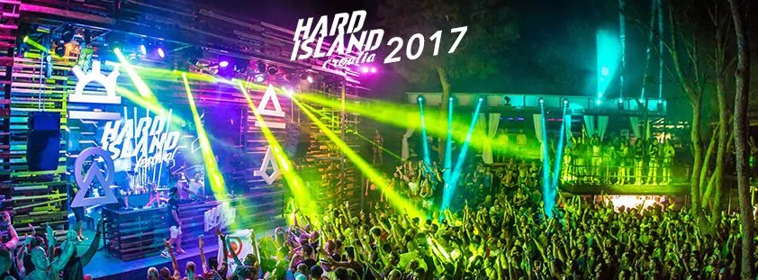 HARD ISLAND 2017 FESTIVAL PAG ZRCE BEACH CROAZIA Ticket – Pacchetti/Package