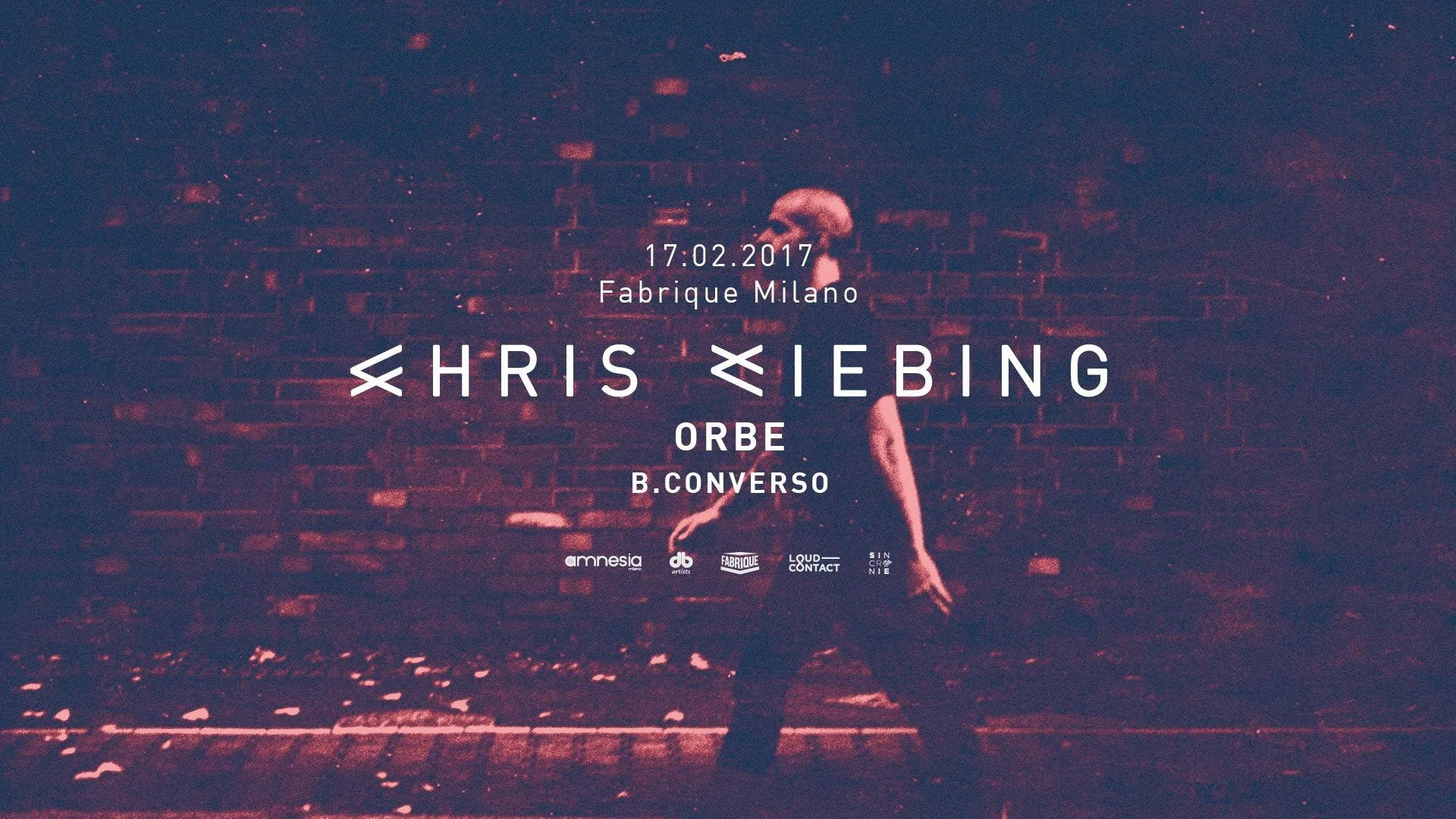 Chris Liebing Fabrique Milano 17 02 2017