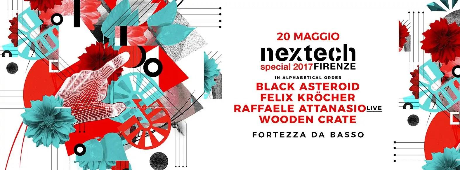NEXTECH Firenze 20 Maggio 2017 + PREZZI PREVENDITE BIGLIETTI PACCHETTI HOTEL + BUD