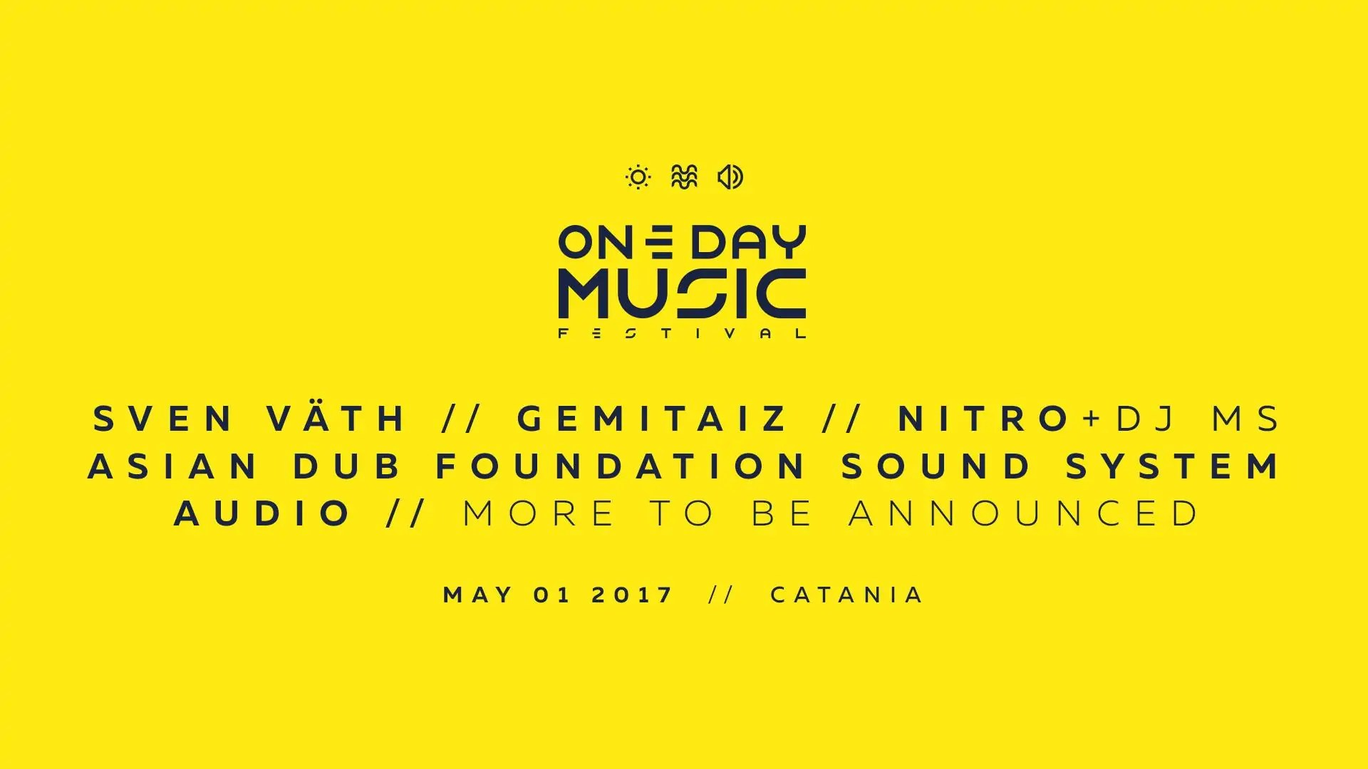 One Day Music Festival 01 05 2017 Catania