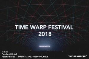 time warp 2018 ticket pacchetti hotel