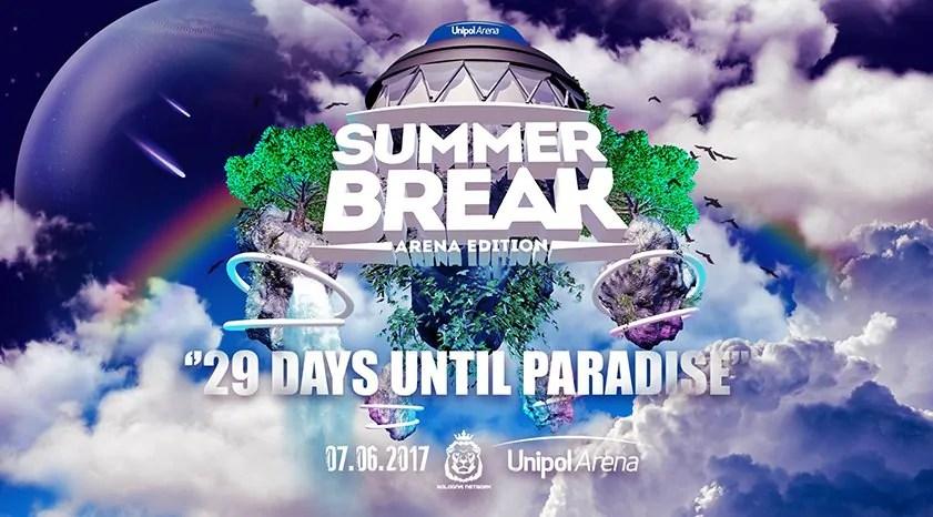 Summer Break @Unipol Arena Bologna 07 Giugno 2017