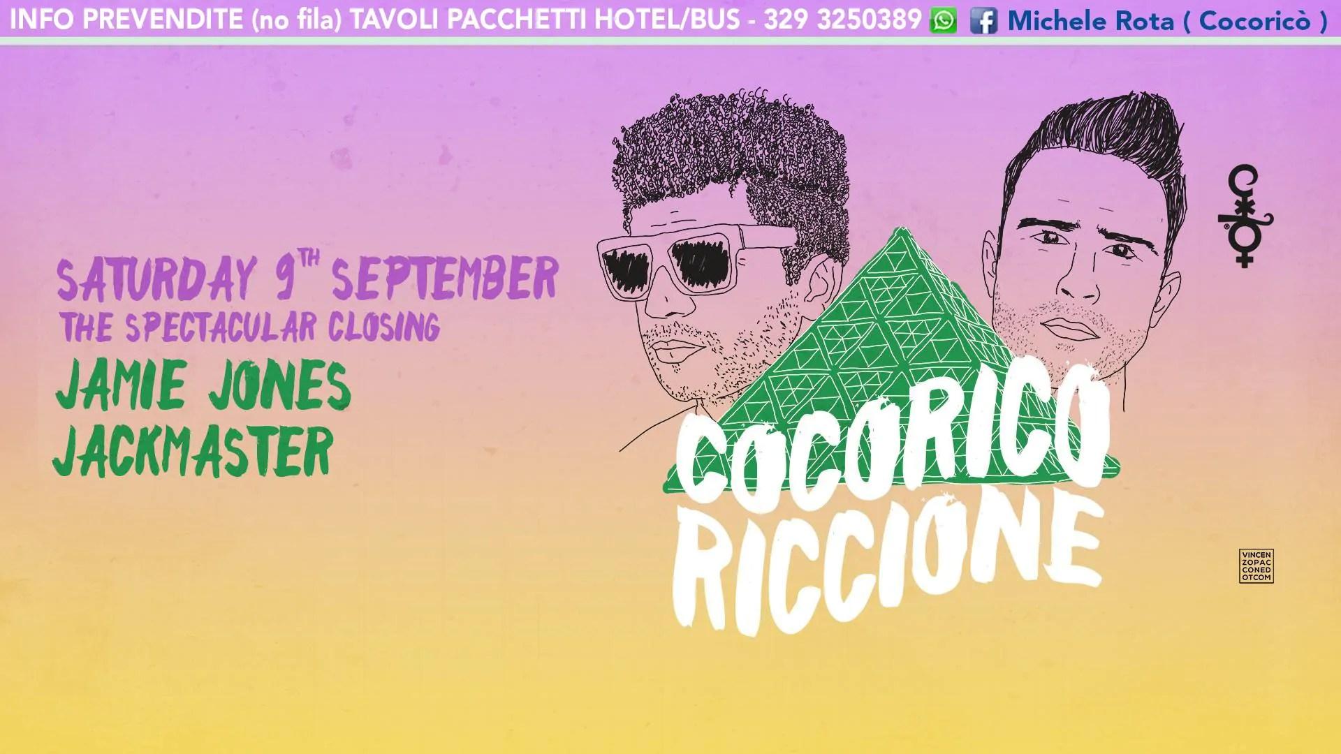 Jamie Jones Jackmaster Cocorico Riccione 09 07 2017