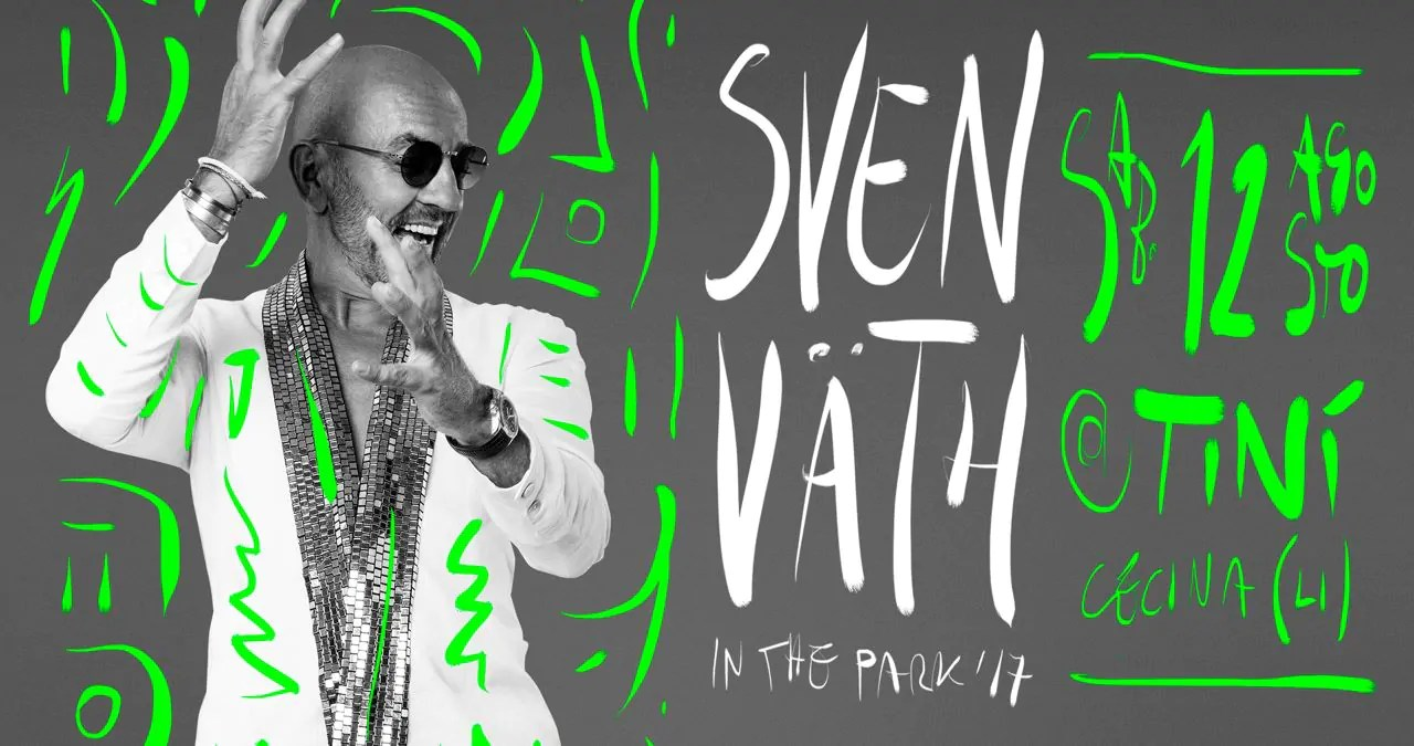Sven Vath In The Park Tini Soundgarden 12 08 2017