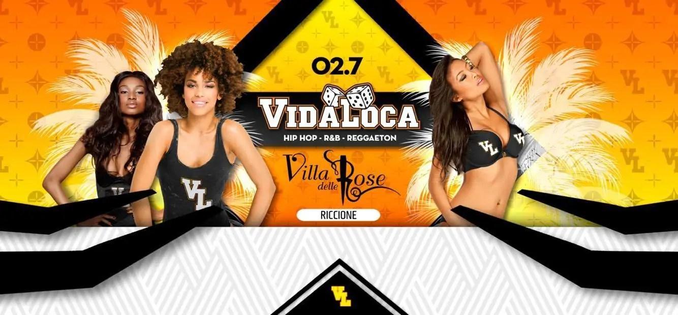 Villa delle Rose Riccione presenta VIDA LOCA – Tutte le Domeniche summer 2017