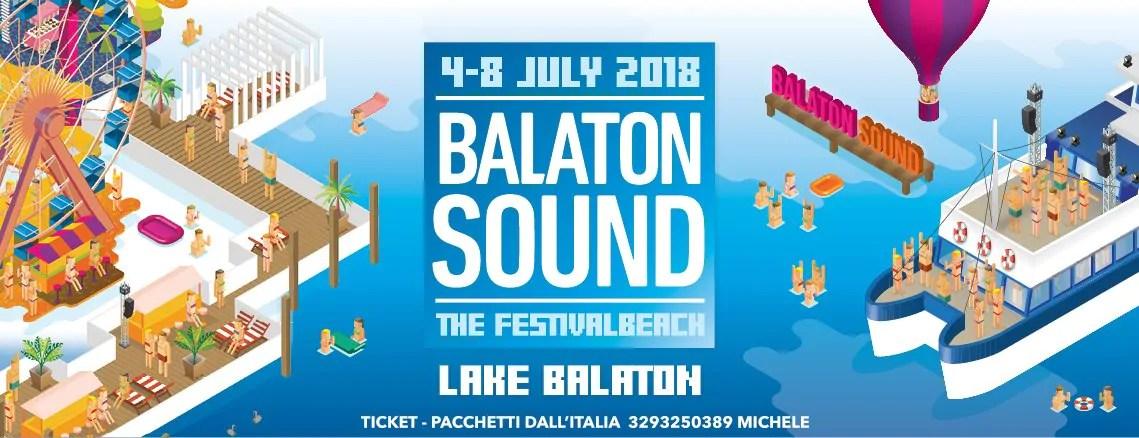 Balaton Sound Festival 4-8 Luglio, 2018