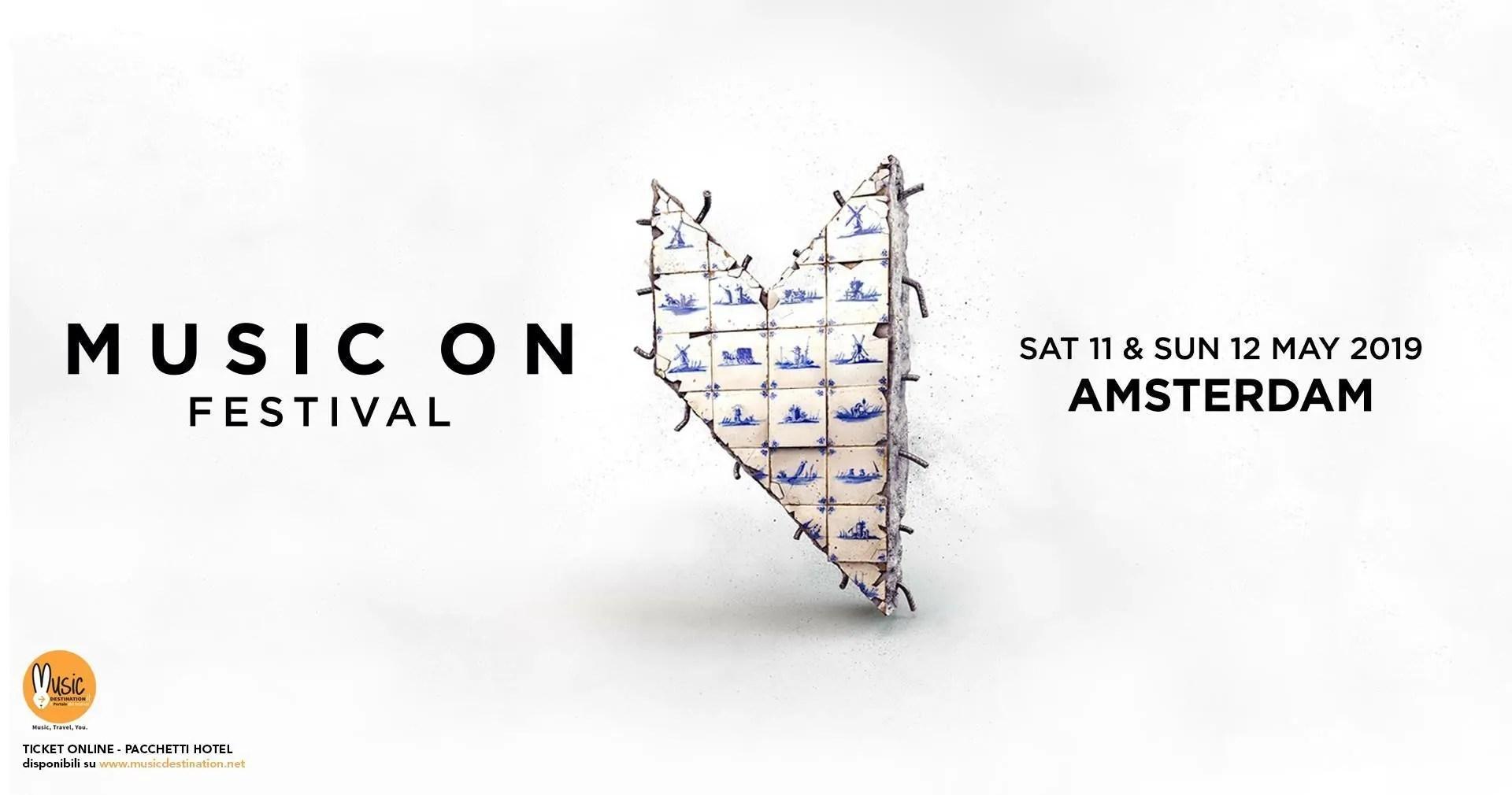 MUSIC ON FESTIVAL 2019 11 12 MAGGIO TICKET PACCHETTI