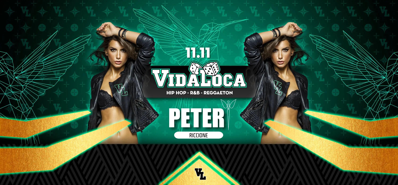 11 11 2017 Peter Pan Riccione VIDA LOCA Opening Party + Prezzi + Prevendite + Ticket Biglietti + Liste + Tavoli + Pacchetti Hotel