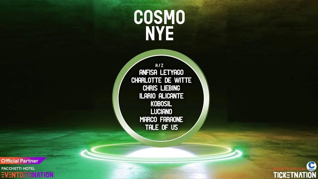 Cosmo Roma Festival Capodanno 2020 a Roma Eur | Prezzi Ticket Biglietti Tavoli Pacchetti Hotel