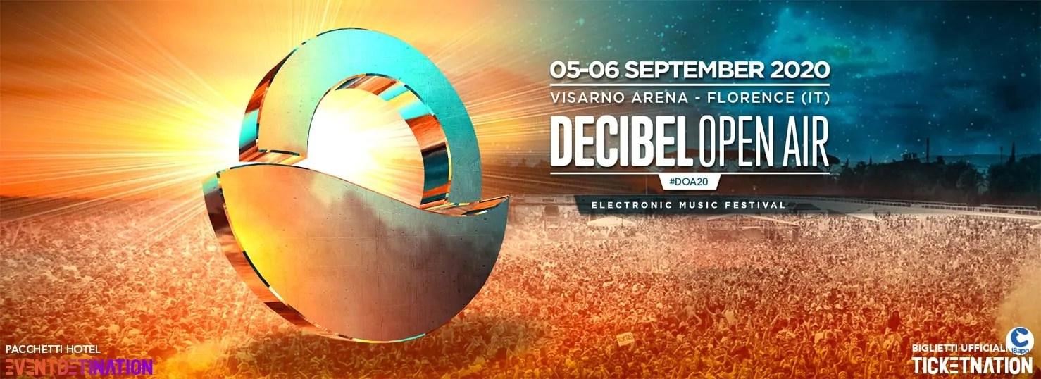 Decibel Open Air 2020 Firenze 05 – 06 Settembre  – Visarno Arena