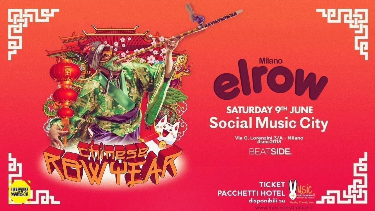 Elrow – Social Music City – 09 Giugno 2018 – Ticket in prevendita Biglietti Prevendite Tavoli Pacchetti Hotel