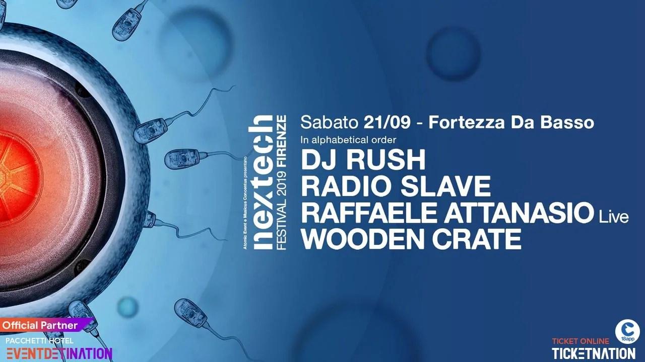 NEXTECH Festival Firenze – Fortezza Da Basso – 21 Settembre 2019 – Ticket Biglietti 18app E Pacchetti Hotel
