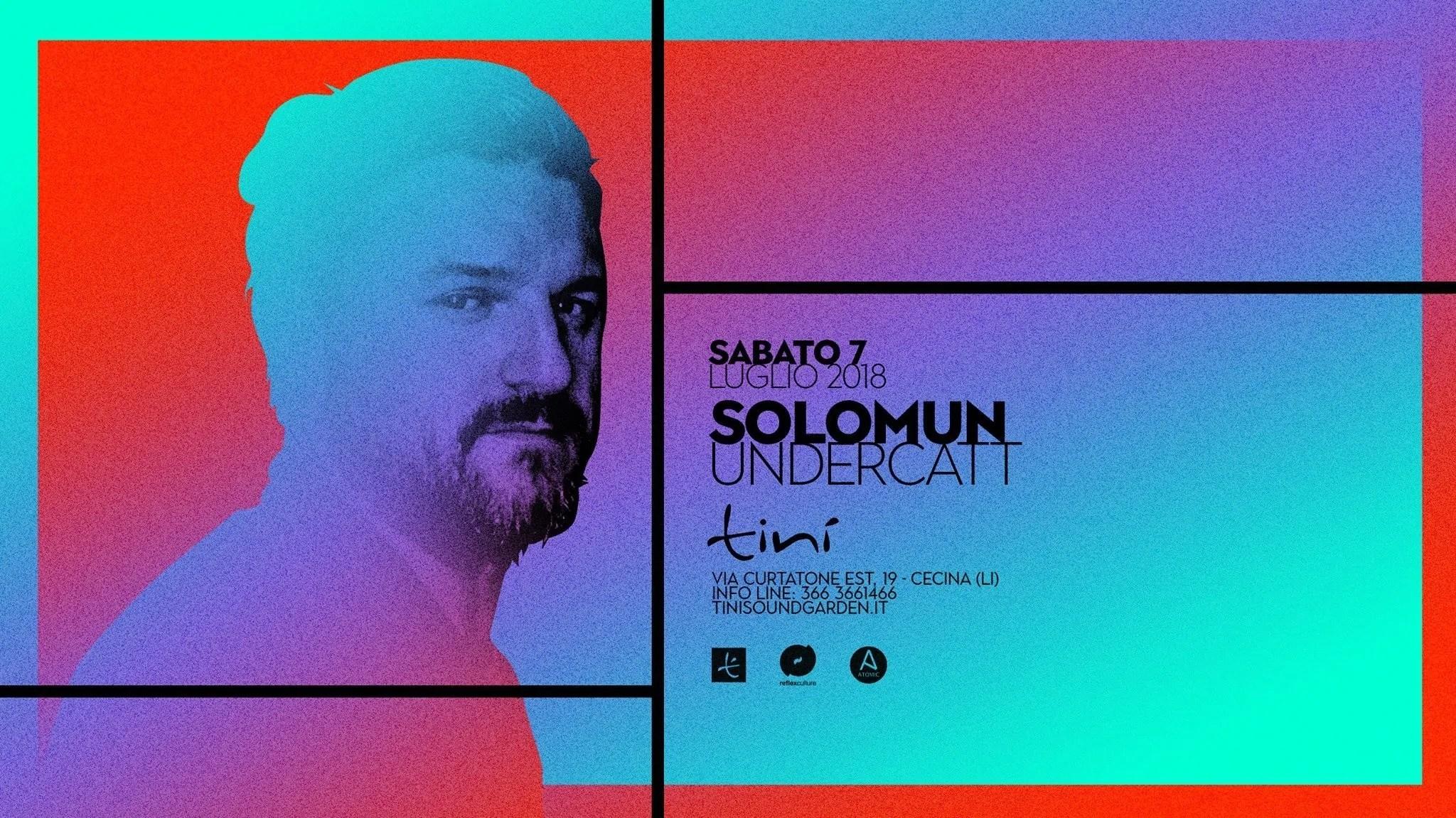 Solomun – Tinì Soundgarden Cecina – 07 Luglio 2018 –  Prezzi Ticket Biglietti Prevendite Tavoli Liste  Pacchetti Hotel