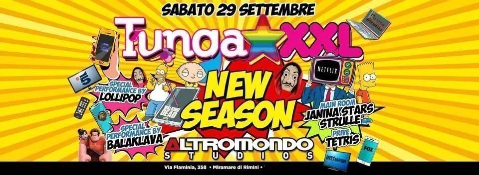Tunga xxl at Altromondo Studios Rimini – Sabato 29 Settembre 2018 | Ticket Tavoli Pacchetti hotel Prevendite