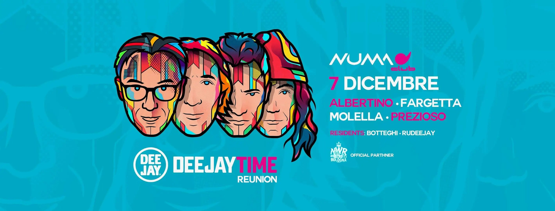 Numa Club Bologna Dj Time Reunion 07 Dicembre 2018