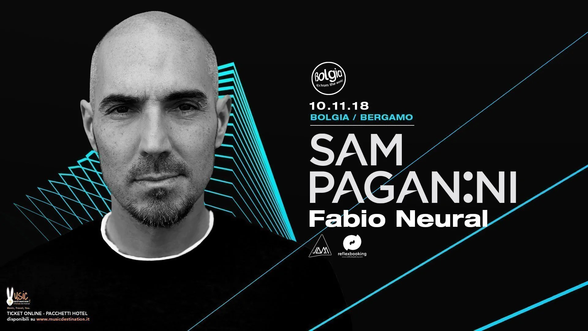 Sam Paganini Bolgia Bergamo 10 Novembre 2018