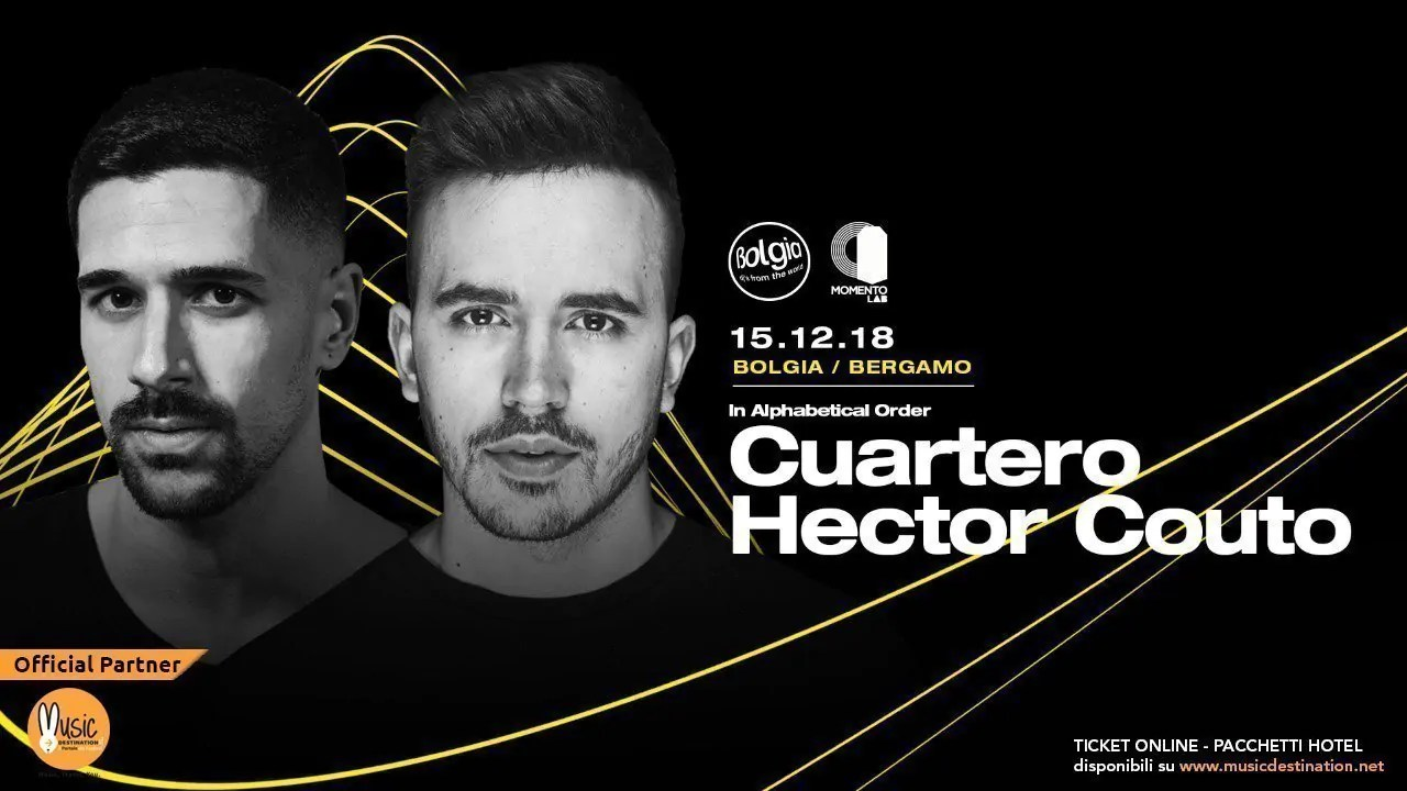 HECTOR COUTO CURTERO BOLGIA BERGAMO 15 DICEMBRE 2018 TICKET