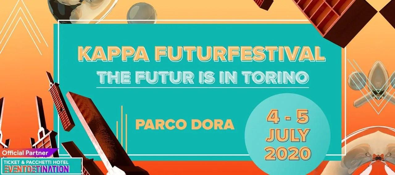 KAPPA FuturFestival 2020 Torino 4 e 5 Luglio Parco Dora
