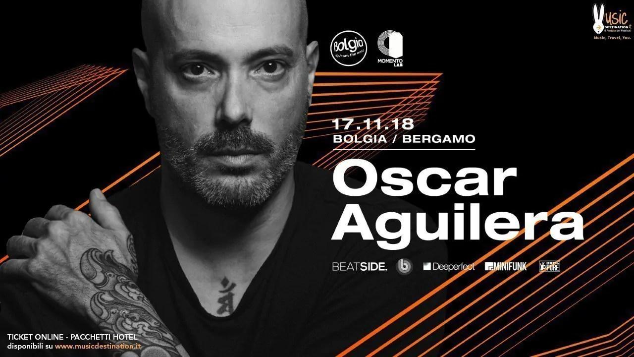Bolgia Bergamo Oscar Aguilera 17 Novembre 2018 | Ticket Tavoli Pacchetti hotel Prevendite