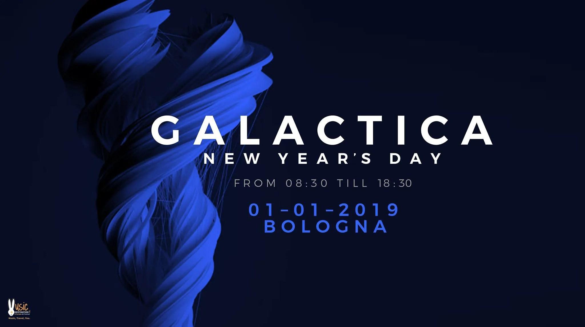 After Galactica Festival NYE Capodanno 2018/2019 Bologna Fiere | Prezzi Ticket biglietti tavoli Pacchetti hotel