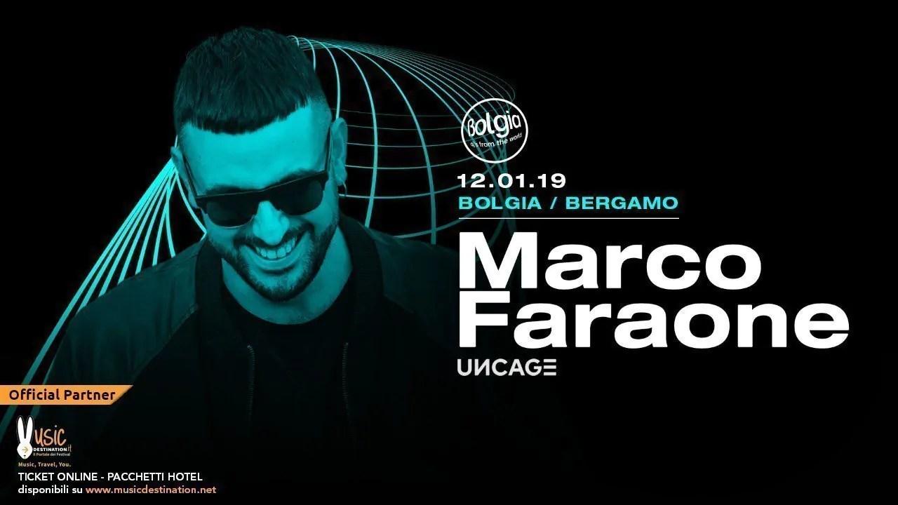 Bolgia Bergamo Marco Faraone 12 Gennaio 2019 | Ticket/Biglietti Tavoli Pacchetti hotel Prevendite