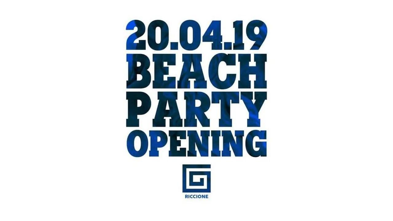 Samsara Riccione 2019 Beach Party Opening 20 04 2019