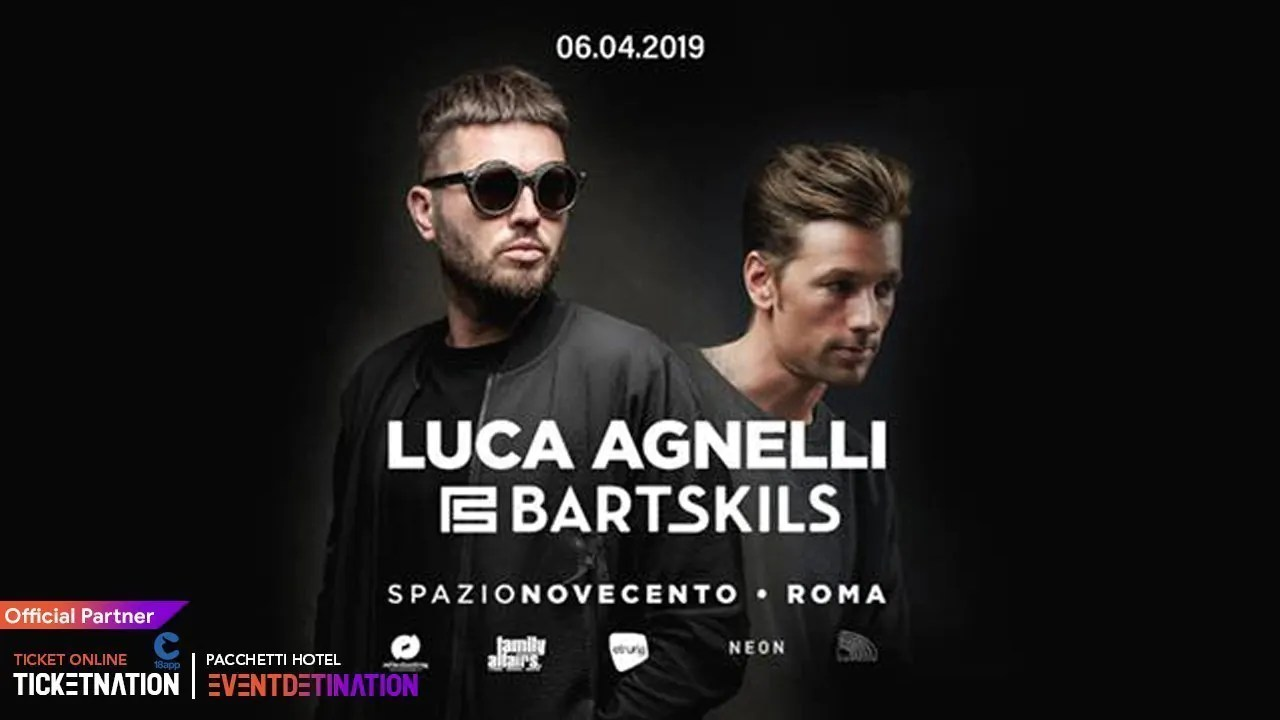 Luca Agnelli at Spazio Novecento Roma – Sabato 06 Aprile 2019 | Ticket/Biglietti/Prevendite 18APP Tavoli Pacchetti hotel Prevendite