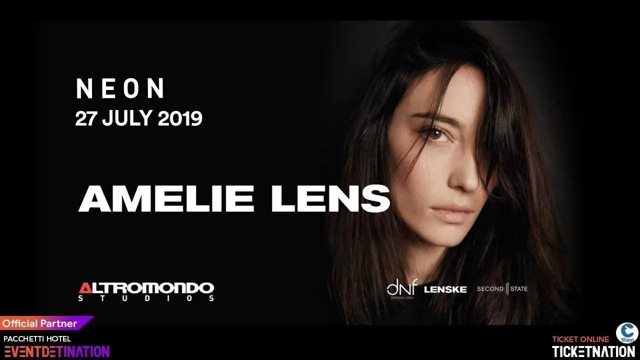 Amelie Lens Rimini Altromondo Studios 27 07 2019 + Prezzi Ticket/Biglietti/Prevendite 18APP Tavoli Pacchetti hotel