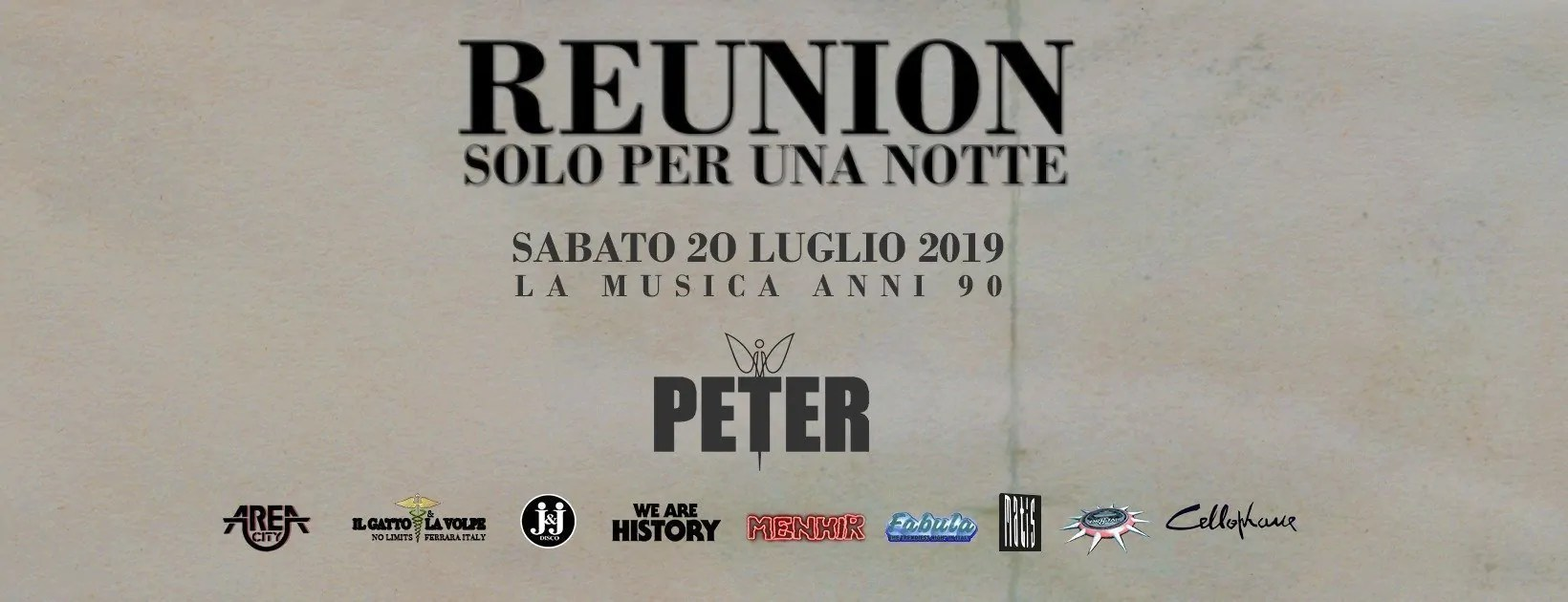 Peter Pan Riccione Reunion